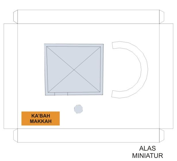 Alas Miniatur Kabah