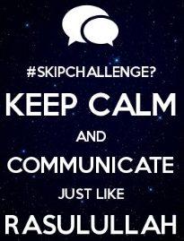 skip challenge cara mendidik remaja