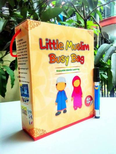 Little Muslim Busy Bag