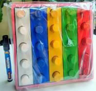 Mainan Pasak Warna